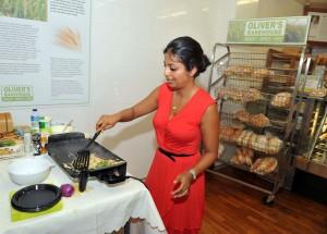 Neha Sen at Olivers Bakehouse
