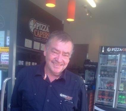 Dave Elliott at Pizza Capers Wynnum