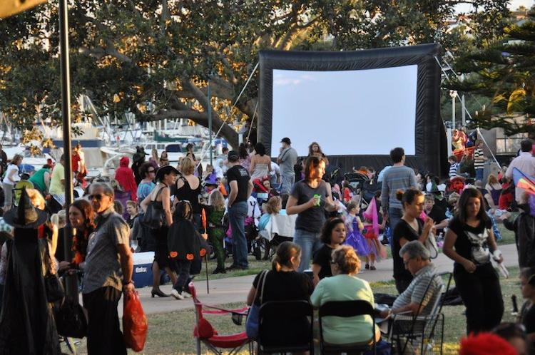 Photo of Pop down to Manly (after the Wynnum market of course) for a movie in the park on Saturday