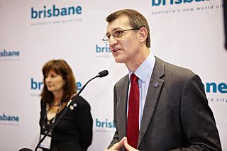 Brisbane Lord Mayor Graham Quirk