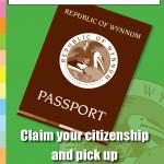 Passport Office Sign