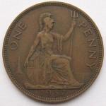 Old British Penny