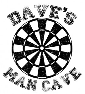 Dave's Man Cave decal - Obsession Creations