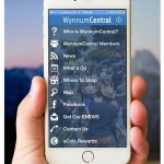 WynnumCentral app on iPhone 6