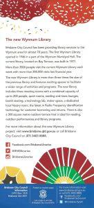 Wynnum Library Opening Flyer p2