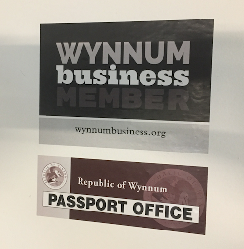 Photo of Look out for the new Wynnum Business stickers