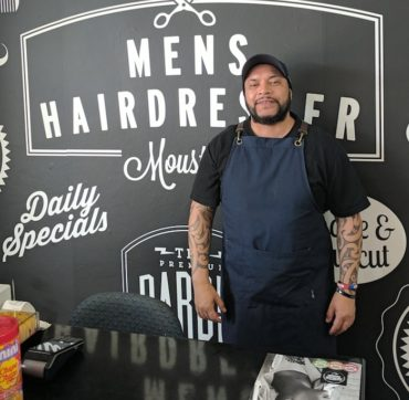 Beer and Phats at Cut 'N' Edge Barber Shop