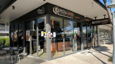 World cuisine at Pizza Capers