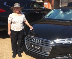 lady merriman plus car