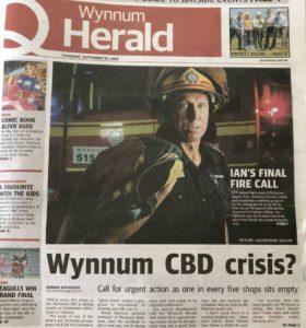 wynnum herald front page