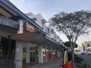 Wynnum Shopping Centre side view