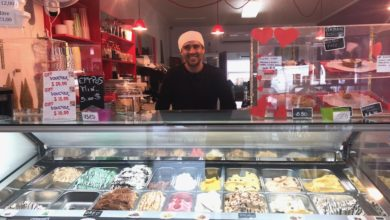 Rudi at Matlida The Art of Gelato