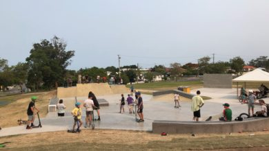 Photo of Wynnum skateboarders get an early Christmas present