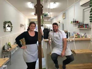 Bec and Pete from Distressed Homewares