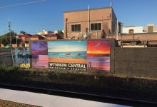Photo of Check out the new look station mural