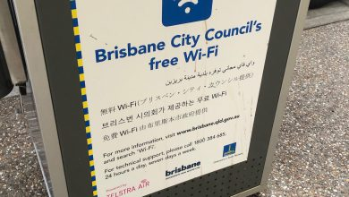 Photo of Brisbane free wi-fi actually works now!