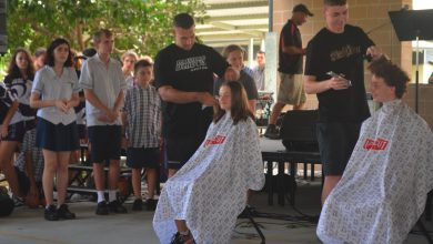 Photo of Hair goes for a good cause