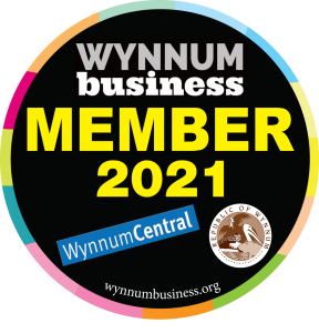 Wynnum Business Member sticker