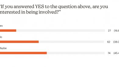 Photo of WynnumCentral's big little ENEWS survey results